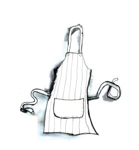 apron-Sketch-Kitchent-Party-Catering