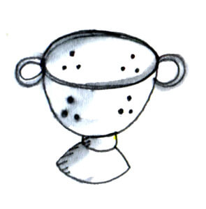 colander-Sketch-Kitchent-Party-Catering